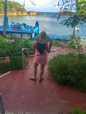 The resort at the U.S. Virgin Islands.