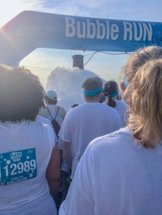 Bubble Run 5K Start Line