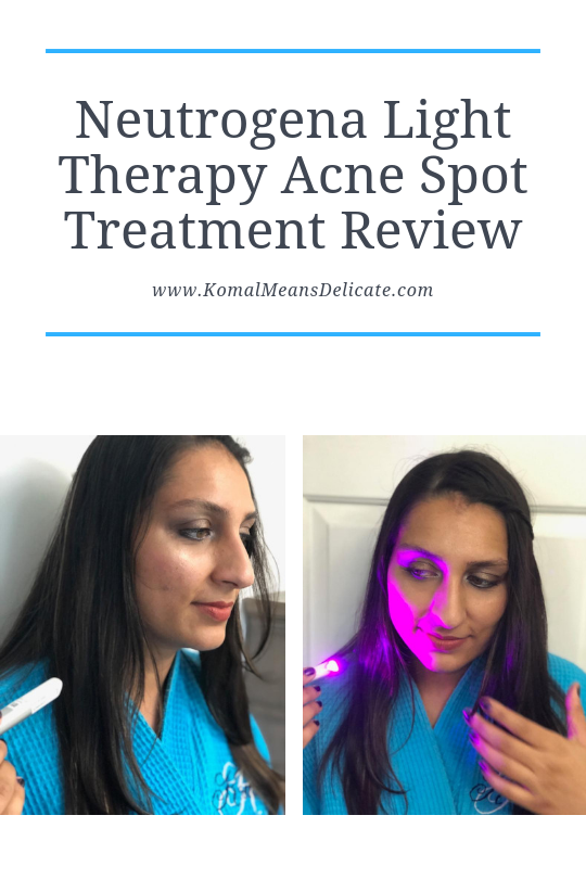 Neutrogena Light Therapy Acne Spot Treatment Review