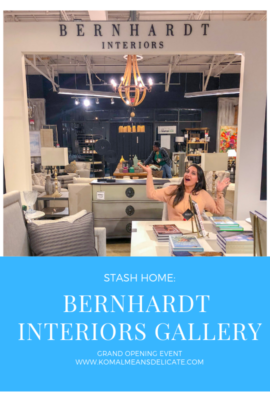 Stash Home: Bernhardt Interiors Gallery Grand Opening Event