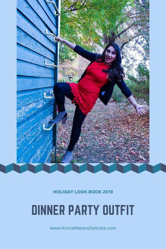Holiday Look Book 2018:  Dinner PartyOutfit